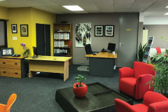 Inside of our Office